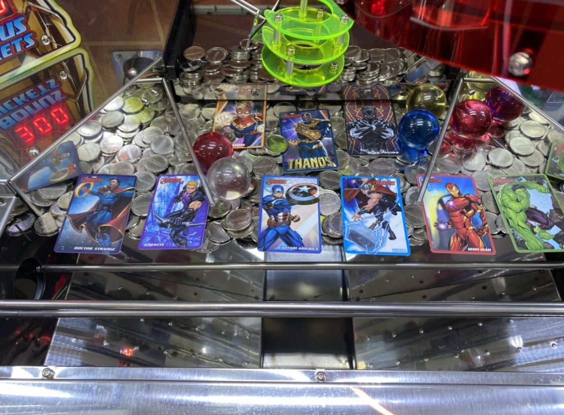 Avengers With Cards