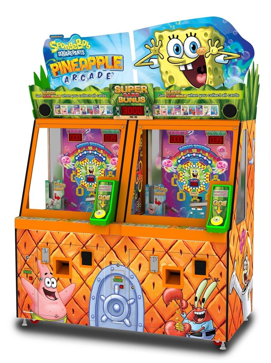 Spongebob Pineapple Arcade Left