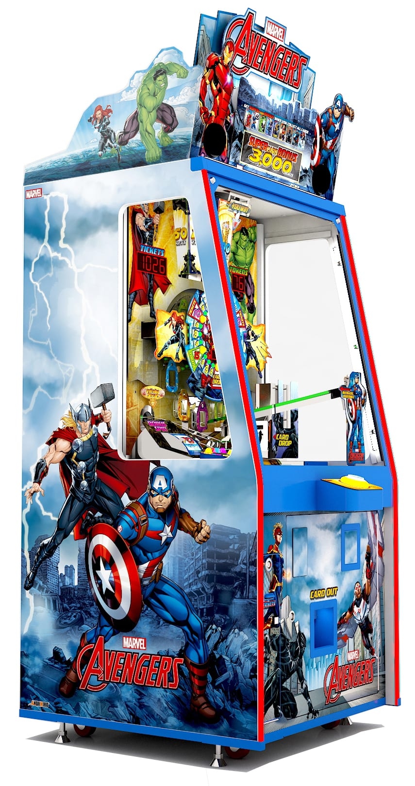 Avengers 1p Cabinet Right Perspective