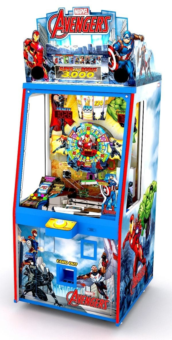 Avengers 1p Cabinet Straight Left Perspective